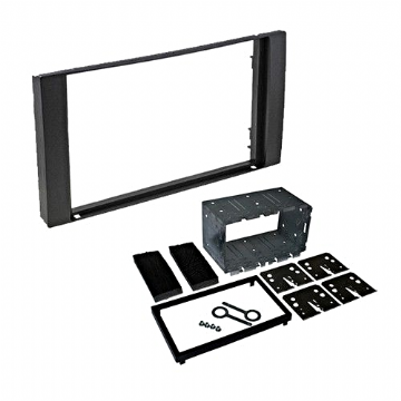 CT23FD01A Ford Double Din Facia Panel Plate For Car Stereo Headunits